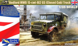 Gecko Models | 35GM0027 | Bedford MWD 15-cwt 4x2 GS (closed cab) truck | 1:35