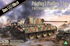 Das Werk | DW35011 | Pzkpfwg. V Panther Ausf.A Late | 1:35