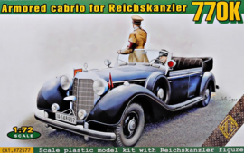 ACE | 72577 | 770K armored cabrio for Reichskanzler | 1:72