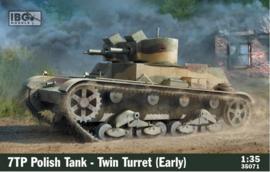 Ibg | 35071 | 7TP Polish tank - Twin Turret early | 1:35