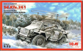 ICM | 72441 |  Sd.Kfz.261 German Radio Communication Vehicle | 1:72