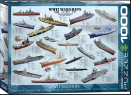 Eurographics | Puzzel 1000 | WWII Warships