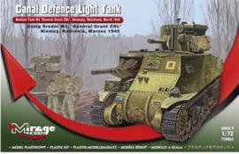 Mirage | 729001 | Canal Defence Light Tank M3 Grant CDL | 1:72