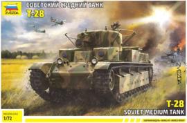 Zvezda | 5064 | T-28 Soviet medium tank | 1:72