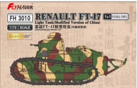 Flyhawk | FH3010 | Renault FT-17 China 1+1 | 1:72