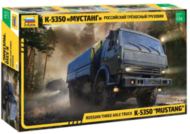 Zvezda | 3697 | K-530 Mustang Russian Three axle truck | 1:35