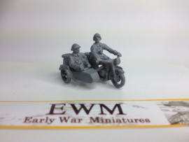 EarlyWarMiniatures | dutveh5 | BMW R12 with 2 soldiers | 1:72