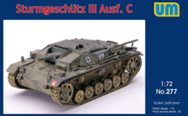 UM | 277 | Sturmgeschutz III Ausf. C | 1:72