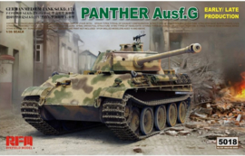 Rye Field Model | 5018 | Panther ausf.G early/late production | 1:35