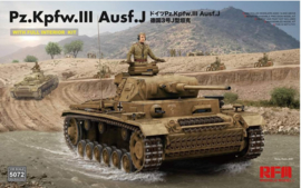 Rye Field Model | 5072 | Pz.Kpfw.III Ausf.J with full interior | 1:35