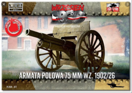 FTF | 077 | Field Gun 75mm wz.1902/26 | 1:72