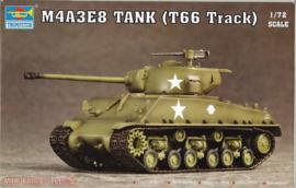 M4A3E8 Sherman - T66 Tracks