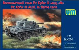 UM   276   Pz.Kpfw. III Ausf.M flame tank   1:72