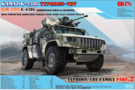 RPG | 35002 | KAMAZ K-4386 Typhoon-VDV | 1:35