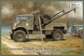 Chevrolet C60 with Holmes crane