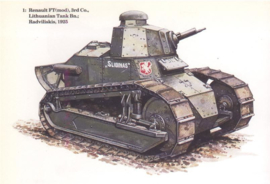 Renault FT Lithuanian conversion (1/72)