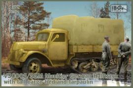 V3000s/SSM Maultier w/ tall cargo bed & tarpaulin