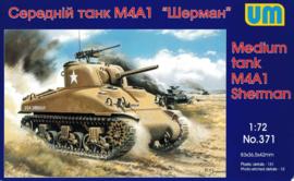 UM | 371 | M4A1 Sherman | 1:72
