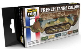 MIG | 7110 | French Tanks Colors | Acrylic Paint