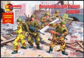 Mars | 72116 | Russian Assault troops wwII | 1:72