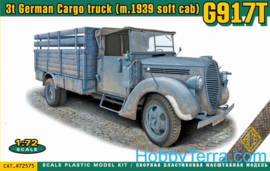 ACE | 72575 | G917T German Cargo Truck with soft cab | 1:72