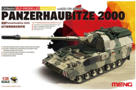 Meng | TS-019 | Panzerhaubitze 200 w/ ADD-ON Armor | 1:35