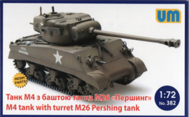 M4 Sherman with M26 Pershing Turret