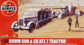 Airfix | A02303 | 88mm Gun & Sd.Kfz.7 Tractor | 1:76