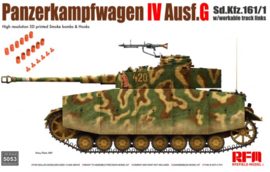 Rye Field Model | 5053 | Panzerkampfwagen IV Ausf. G Sd.Kfz. 161/1 w/with workable track links | 1:35