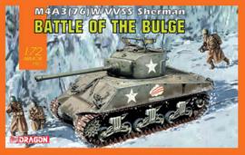 Dragon | 7567 | M4A3(76) W VVSS Sherman & Kubelwagen & BMW | 1:72