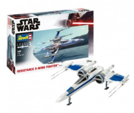 Revell | 06744 | Resistance X-wing fighter,  Star Wars | 1:50