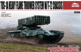 TOS-1A With T-72 Chassis Heavy Rocket Launcher System