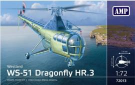 AMP | 72013 | Westland WS-51 Dragonfly HR.3 | 1:72