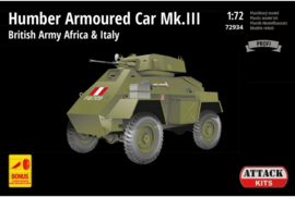 Attack | 72934 | Humber  Armoured Car Mk.III | 1:72