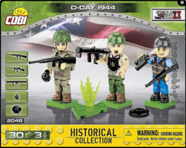 Cobi | 2048 | D-day US soldiers