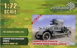 Zebrano | 72041 | Lanchester British Armored Car | 1:72