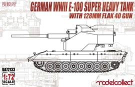 E-100 super heavy tank with 128mm flak 40