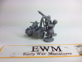EarlyWarMiniatures | dutveh6 | BMW R12 & sidecar with AA gun | 1:72