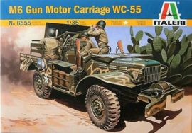 Italeri | 6555 | M6 Gun Motor Carriage WC-55 | 1:35