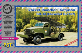 PST | 72087 | Rocket Launcher Katjusha BM-13 | 1:72