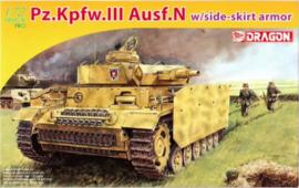 Dragon | 7407 | Pz.Kpfw.III Ausf.N w/ side shirts | 1:72