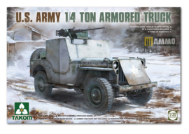 1:35 1/4 ton armored truck/jeep