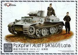 Panzer 1 ausf.F vk18.01 late