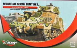 Mirage | 728004 | GRANT Mk.I , EL ALAMEIN | 1:72