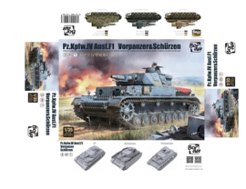 Border Model | BT-003 | Pz.Kpfw.IV ausf F1 | 1:35