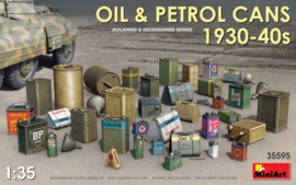 MiniArt | 35595 | Oil & Petrol Cans 1930-40's | 1:35