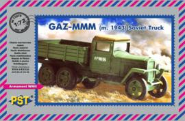 GAZ MMM M1943 Truck