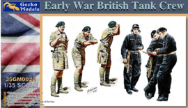 Gecko Models | 35GM0022 | Early War British Tank Crew | 1:35