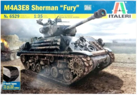 "Italeri | 6529 | M4A3E9 76mm HVSS Sherman ""Fury"" 