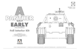 Takom | 2097 | Panther Ausf.A Early | Full interior | 1:35